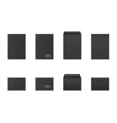 Blank paper envelopes vector image