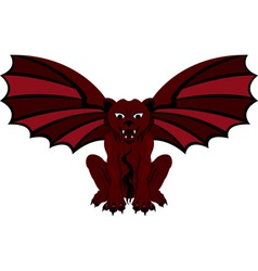 Gargoyle red vector
