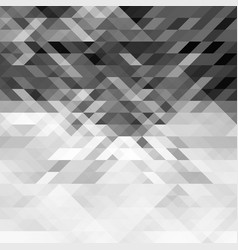 Grayscale triangles abstract geometric background vector