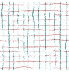 Hand drawn striped and polka dot seamless p vector image