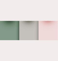 Pastel color soft halftone background design vector