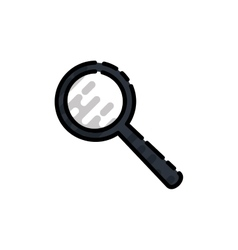 Science flat icon vector image