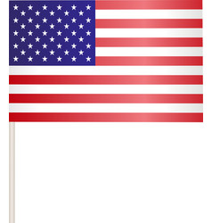 Flags of USA vector image vector image
