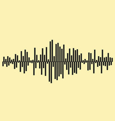 Sound waves Music background EPS 10 file included vector image vector image