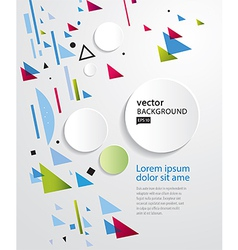 Abstract geometric background EPS 10 vector image vector image
