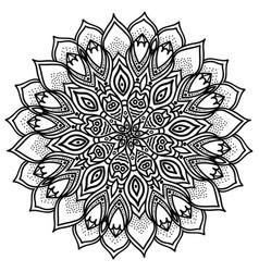 mandala highly detailed ethnic vector image
