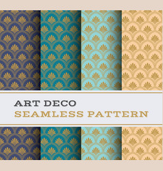 Art deco seamless pattern 23 vector