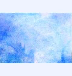 blue watercolor background abstract hand vector image