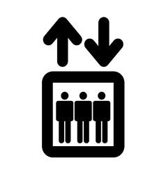Elevator Symbol vector