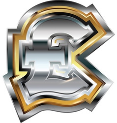Fancy pound symbol vector