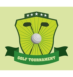 Golf design vector image
