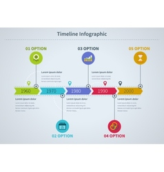 Infographic business with diagrams vector