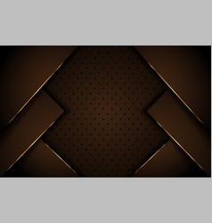 luxurious dark brown background design vector image