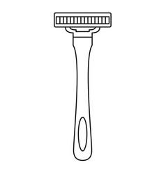 man razor icon outline style vector image