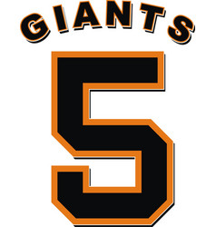 Nick hundley giants vector