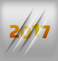Numbers background 2017 vector