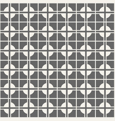 Seamless abstract modern cross pattern vector