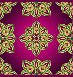 vintage purple repeating pattern vector image