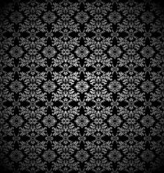 silver leaf wallpaper vector image