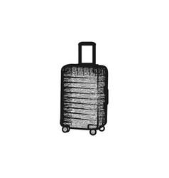 bag travel tour logo design inspiration vector image