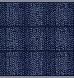 Boro fabric patch kantha pattern darning vector