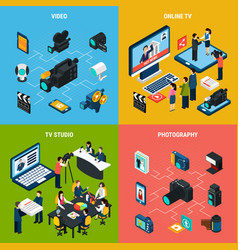 photo video design concept vector image