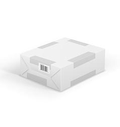 Wraped box vector image vector image