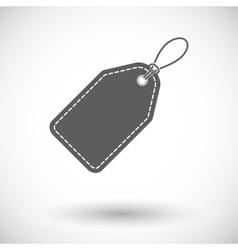 Label icon vector image vector image