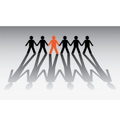 Pictogram groups vector image