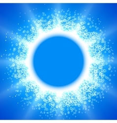 Blue Bubble vector image