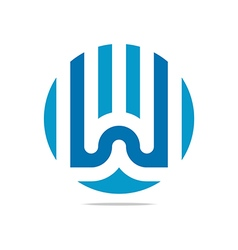 bussines icon symbol design circle vector image