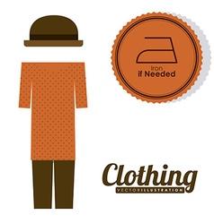 Clothing design vector
