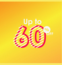 Discount up to 60 off label sale line logo vector