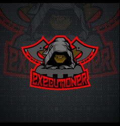 executioner logo template vector image