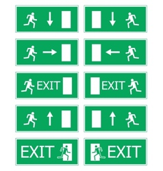 Fire exit vector