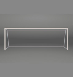 Football or soccer goal vector