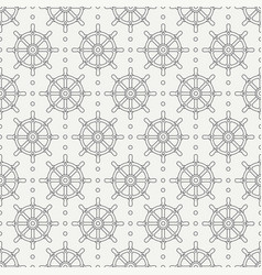 geometric nautical seamless background pattern vector image