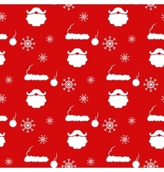 Santa Claus Pattern vector image