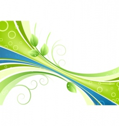 fresh background vector image vector image