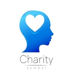 Symbol of Charity Sign head vector image vector image