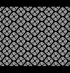 abstract tribal style seamless pattern vector image