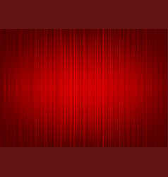 red striped curtain background vector image vector image