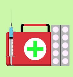 urgent care concept vector image