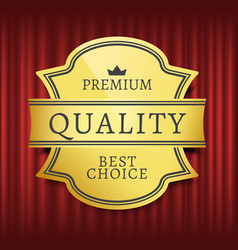 best choice high quality premium mark vector image