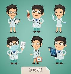 doctors set1 1 vector image