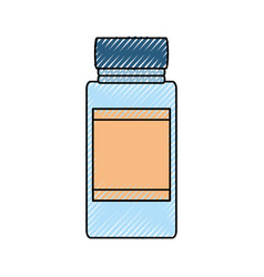 glass canning jar vector image