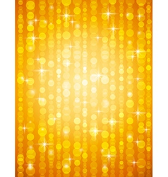 Golden brightnes suitable for christmas vector