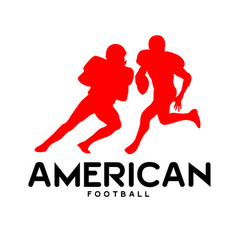 sport american football background image vector image