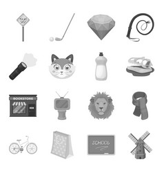 Sport education animal and other web icon in vector