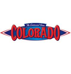 Colorado The Centennial State vector image